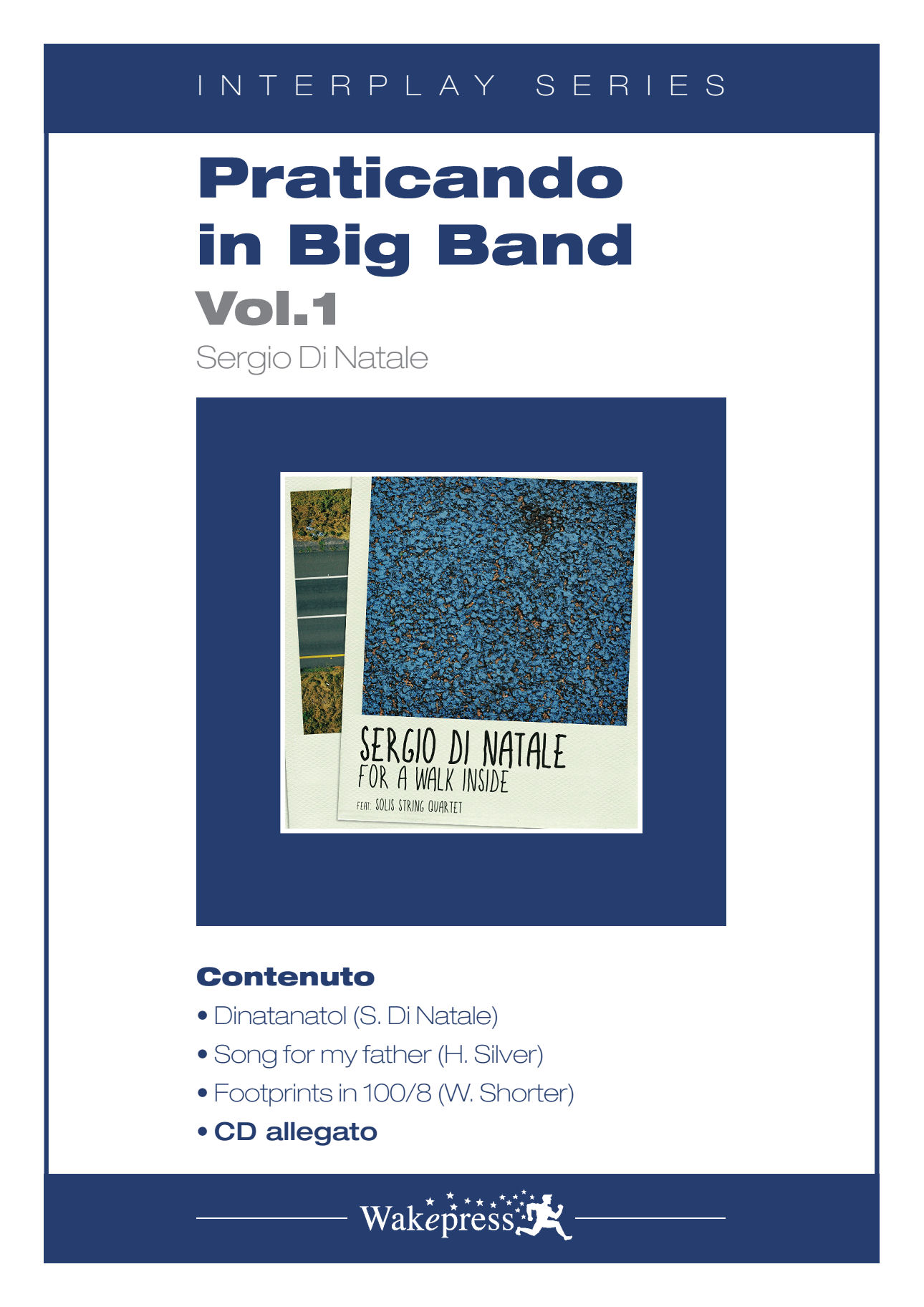 Copertina di PRATICANDO IN BIG BAND Vol.1