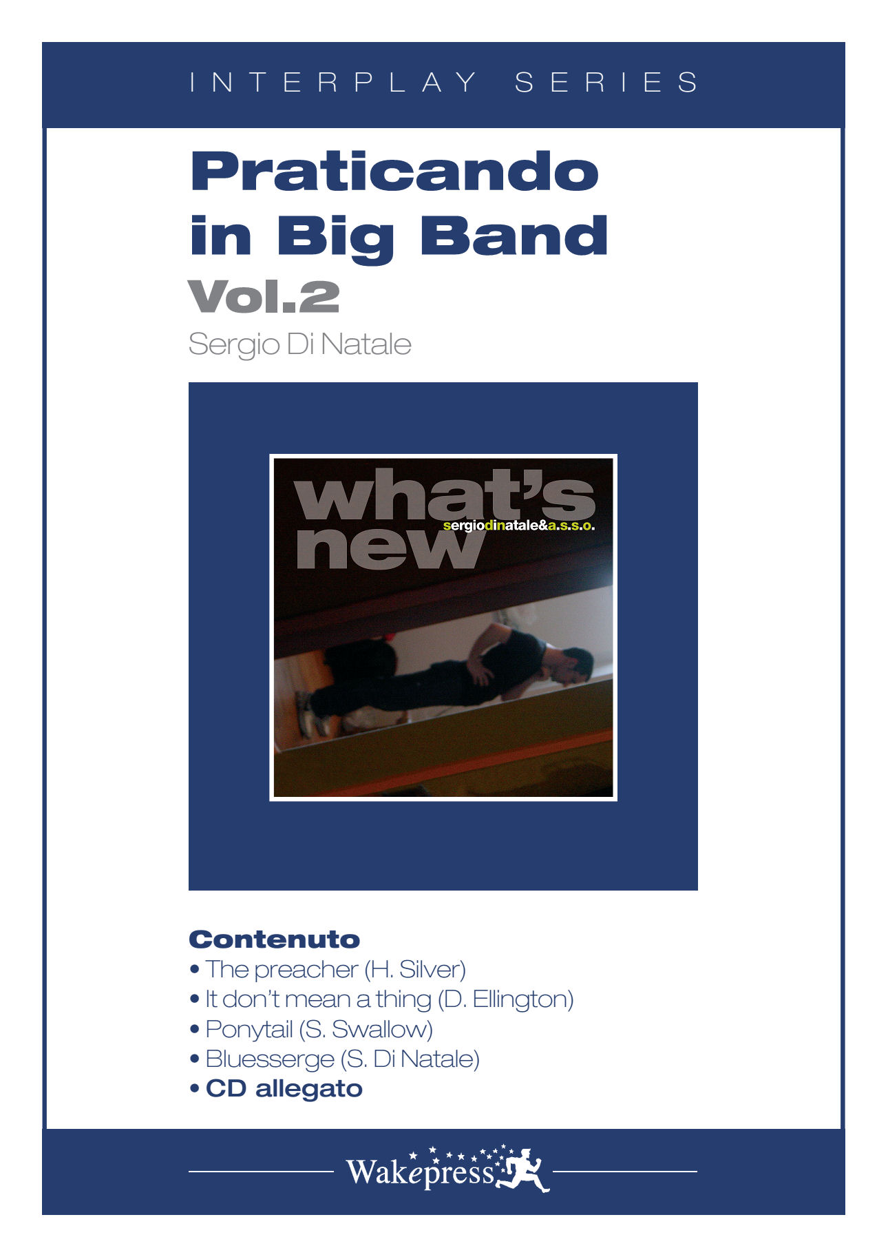 Copertina di PRATICANDO IN BIG BAND Vol.2