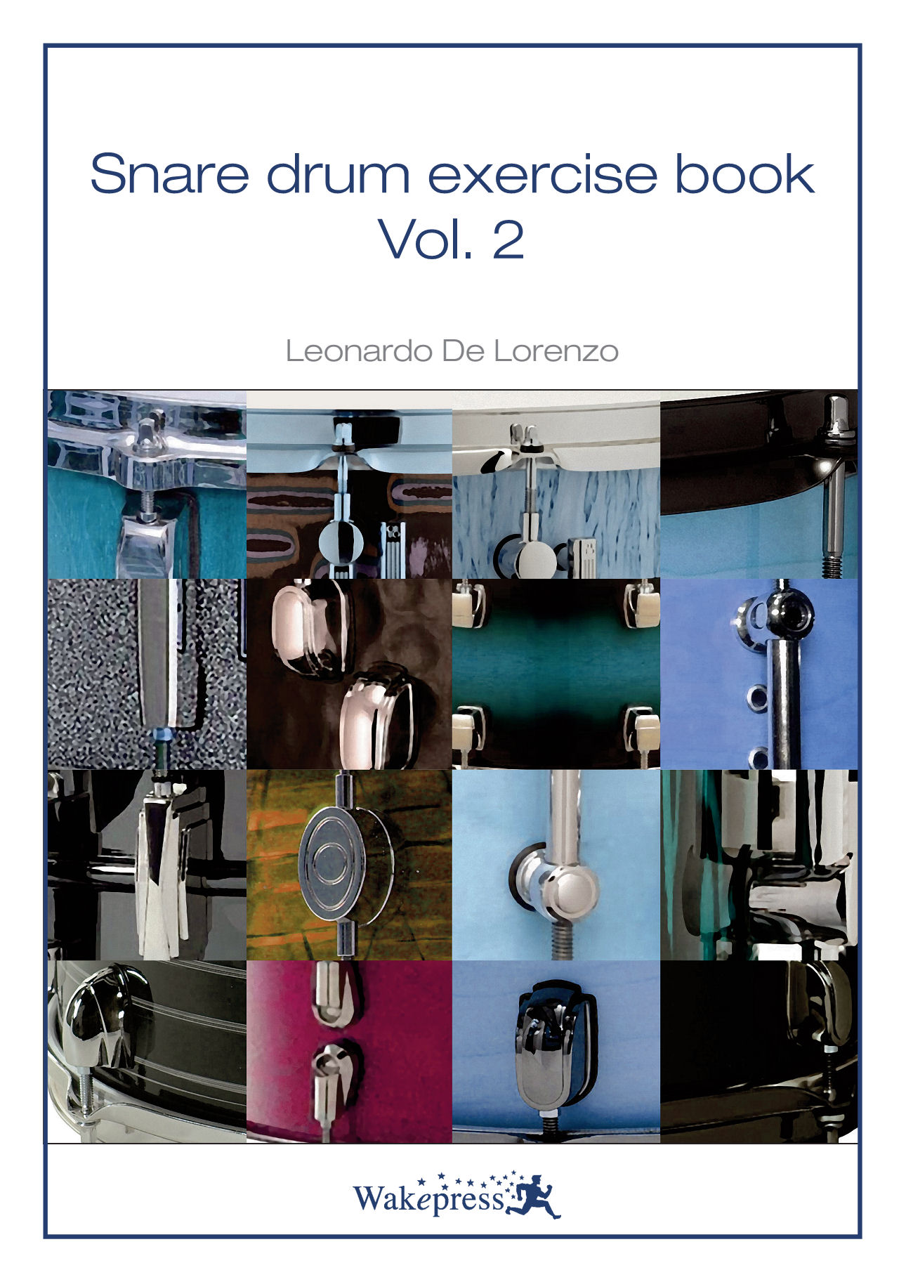 Copertina di SNARE DRUM EXERCISE BOOK Vol.2