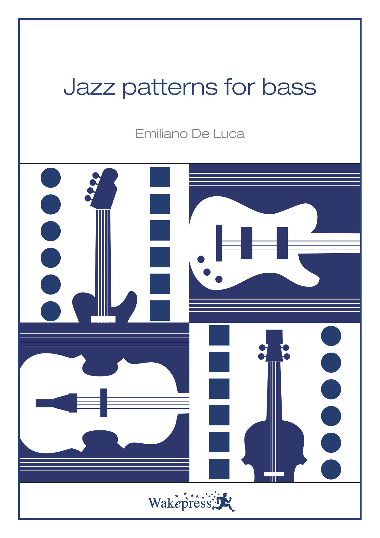 Copertina di JAZZ PATTERNS FOR BASS